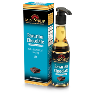 Bavarian Chocolate MiniSyrup 5 FL OZ (148 ml)