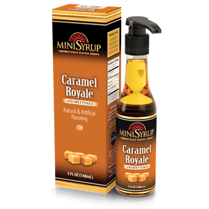 Caramel Royale MiniSyrup 5 FL OZ (148 ml)