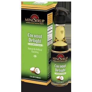 Coconut Delight MiniSyrup 5 FL OZ (148 ml)