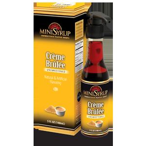 Creme Brulee MiniSyrup 5 FL OZ (148 ml)