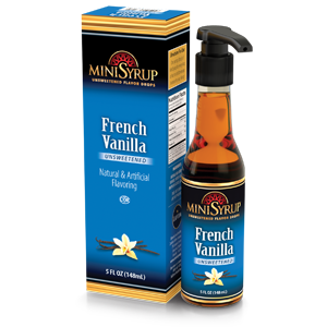 French Vanilla MiniSyrup 5 FL OZ (148 ml)