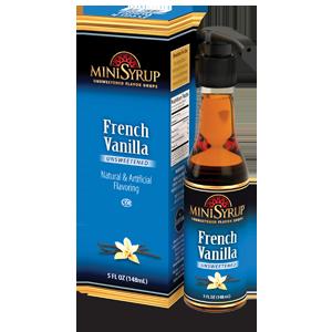 French Vanilla MiniSyrup 5 FL OZ (148 ml)