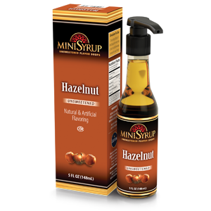 Hazelnut MiniSyrup 5 FL OZ (148 ml)