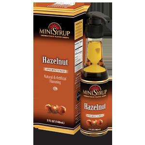 Hazelnut MiniSyrup 5 FL OZ (148 ml)