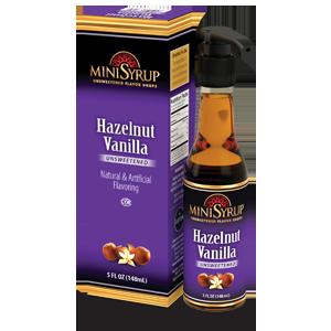 Hazelnut Vanilla MiniSyrup 5 FL OZ (148 ml)