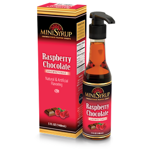 Raspberry Chocolate MiniSyrup 5 FL OZ (148 ml)