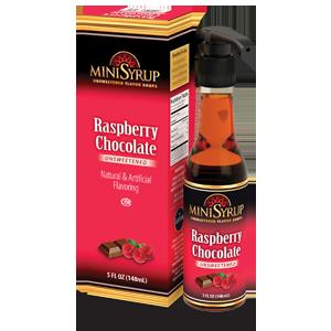 Raspberry Chocolate MiniSyrup 5 FL OZ (148 ml)
