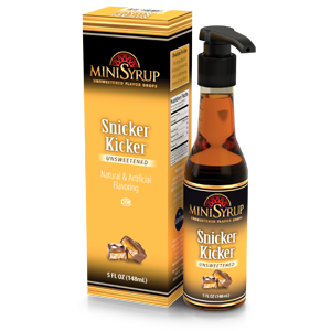 Snicker Kicker MiniSyrup 5 FL OZ (148 ml)