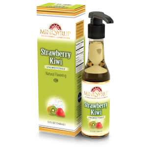 Strawberry Kiwi MiniSyrup 5 FL OZ (148 ml)