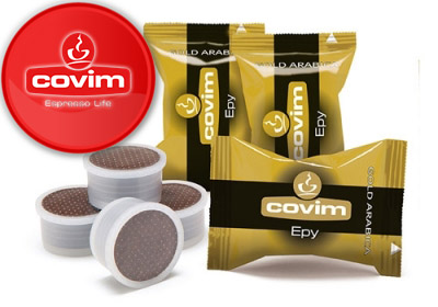 Covim Gold Arabica plastic portions.Packaging of 50 Pcs